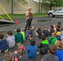 DuPage Forest Preserve Visits Tate Woods