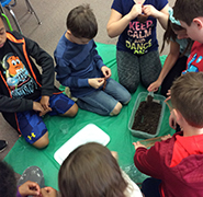 Farm Bureau Visits Third Grade