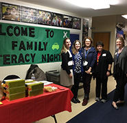 """On Track to Literacy Success"" Preschool Family Literacy Night"
