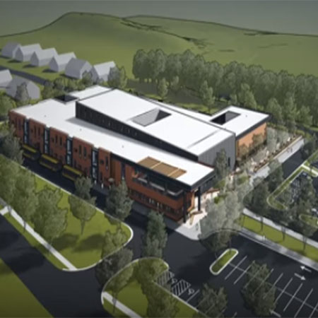 Picture of new school