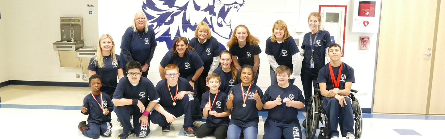 Lisle 202 Special Olympians